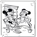 Tegneseriefigurer - Mickey and Minnie