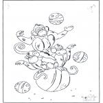 Dyr - Monkey on ball