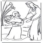 Bibelsk - Moses biblecoloring