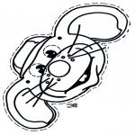 Kreativitet - Mouse mask