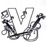 Litt av hvert - Music alphabet V