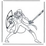 Tegneseriefigurer - Narnia 5
