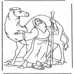 Bibelsk - Noah and a camel
