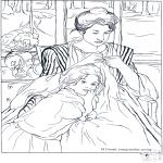 Litt av hvert - Painter Cassatt