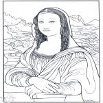 Litt av hvert - Painter da Vinci