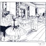 Litt av hvert - Painter E. Degas