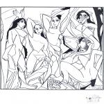 Litt av hvert - Painter Picasso