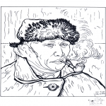 Litt av hvert - Painter Van Gogh 2