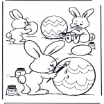Temaer - Painting eggs 1