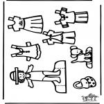 Kreativitet - Paper doll 3