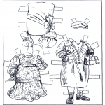 Kreativitet - Paper doll Clothing 2