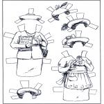 Kreativitet - Paper doll Clothing 5