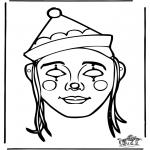 Kreativitet - Paper mask 10