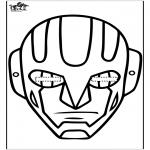 Kreativitet - Paper mask 15