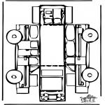 Kreativitet - Papercraft car