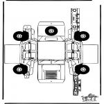 Kreativitet - Papercraft Hummer
