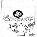 Bibelsk - Papercraft Jonah