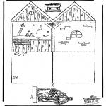 Bibelsk - Papercraft manger