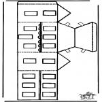 Jul - Papercraft xmashouse 2