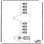 Bibelsk - Papercraft xmashouse 3
