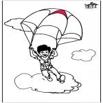 Litt av hvert - Parachuting