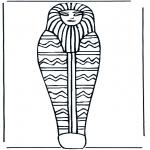 Litt av hvert - Pharaoh coffin