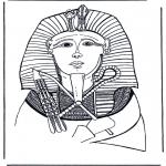Litt av hvert - Pharaoh death-mask