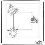 Kreativitet - Photoframe Cinderella