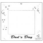 Kreativitet - Photoframe for dad