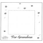 Kreativitet - Photoframe for grandma