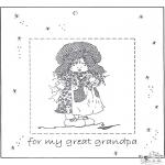 Kreativitet - Photoframe for grandpa