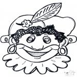 Pricking cards - Pietten masker