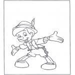 Tegneseriefigurer - Pinocchio