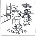 Småbarn - Play with toys