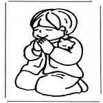 Bibelsk - Praying boy
