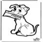 Prickingcard 101 dogs 4