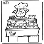 Pricking cards - Prickingcard baker