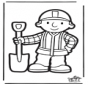 Prickingcard Bob the Builder 2