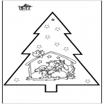 Jul - Prickingcard crib 2