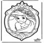 Prickingcard Disney Princesses 1