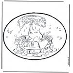 Pricking cards - Prickingcard Dumbo