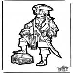 Pricking cards - Prickingcard pirate 2