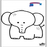 Småbarn - Primalac elephant