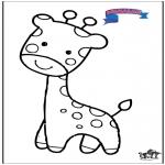 Dyr - Primalac giraffe