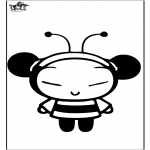 Tegneseriefigurer - Pucca the bee