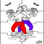 Kreativitet - Puzzel carnaval