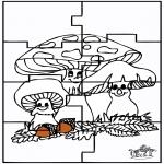 Kreativitet - Puzzle Autumn