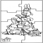 Kreativitet - Puzzle Bobo