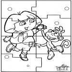 Kreativitet - Puzzle Dora