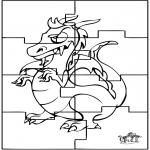 Kreativitet - Puzzle dragon